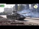 Syrien Krieg Schlacht von Aleppo Heftige Kämpfe und Feuergefechte zwischen Rebellen und SAA
