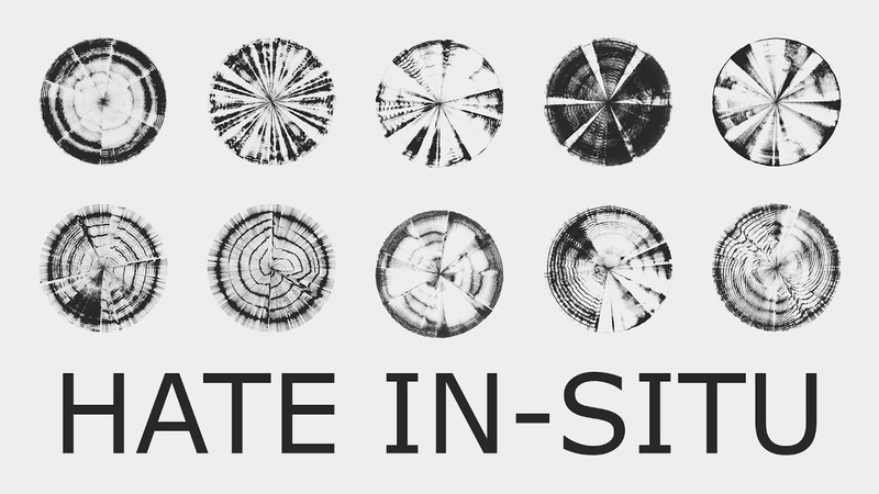 HATE IN-SITU - Compilation of 8/15 hate/anger emotions - Audiovisual (Generative art made with code)