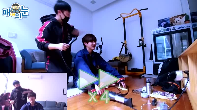 Show » From the eyes of the manager ep.1   Premiere! B1A4 Sandeul's room