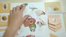 Лэпбук № 6 Mushrooms and worms