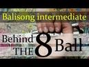 Нож бабочка Балисонг трюки флиппинг средний уровень 5 Behind The 8 Ball