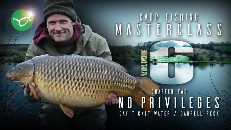 Korda Carp Fishing Masterclass Vol 6 No Privileges Darrell Peck 2019