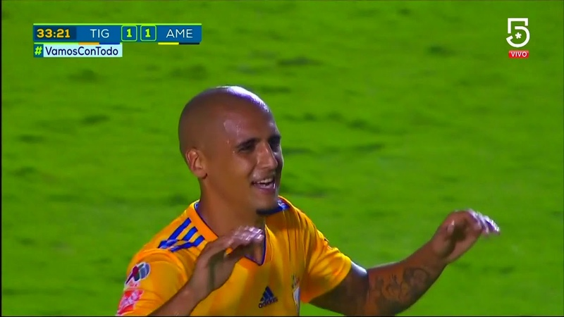 Resumen | Tigres UANL 2 - 3 América | LIGA Bancomer MX - Apertura 2018 - Jornada 12