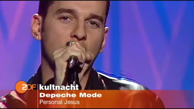 Depeche Mode - Personal Jesus (ZDF HD 1989) ♫(720p)♫✔