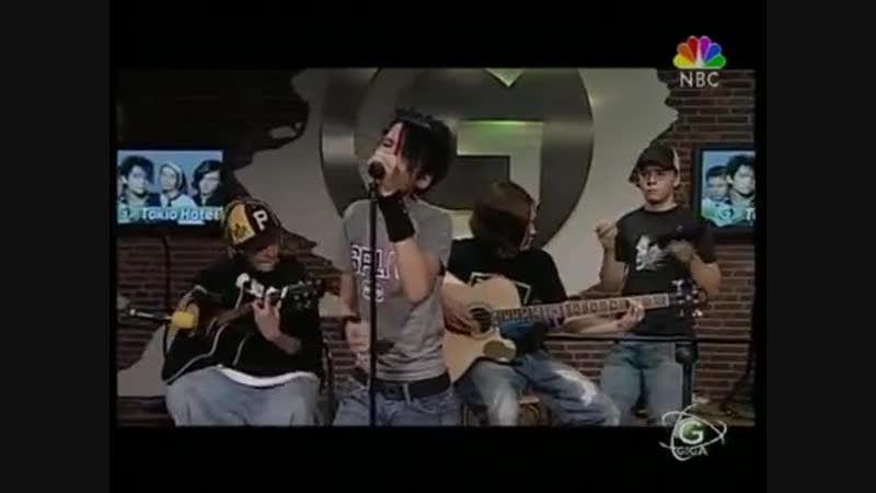 Tokio Hotel - Durch den Monsun (acoustic live, Giga TV, 17.08.2005)