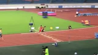 4X100 เมตรชาย ทีมชาติไทย แซงจีน (เจ้าภาพ) ช่วง3626