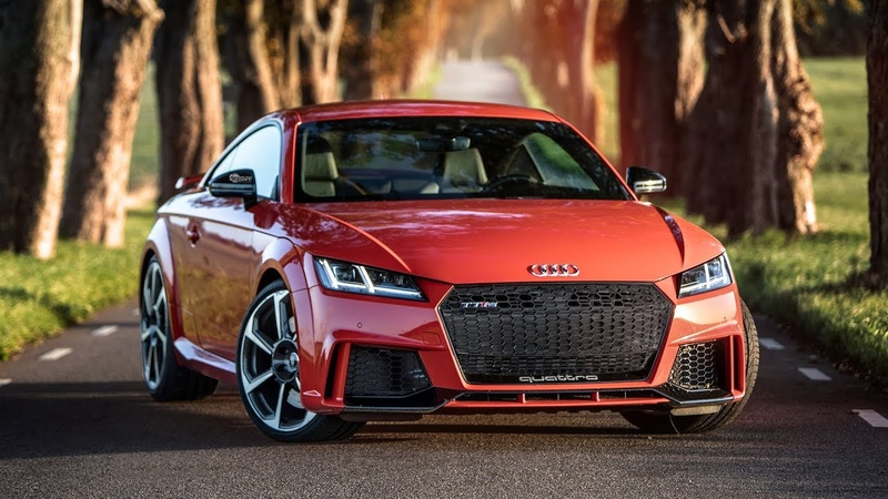 The SUPERCAR-BEATER - 2018 AUDI TT-RS (400hp,5cyl) - 0-100km/ in 3.4 seconds!