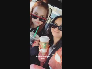 Instagram Stories video by Madelaine Petsch