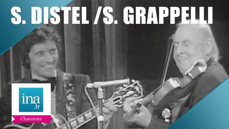 Stéphane Grappelli et Sacha Distel Sweet Georgia Brown | Archive INA