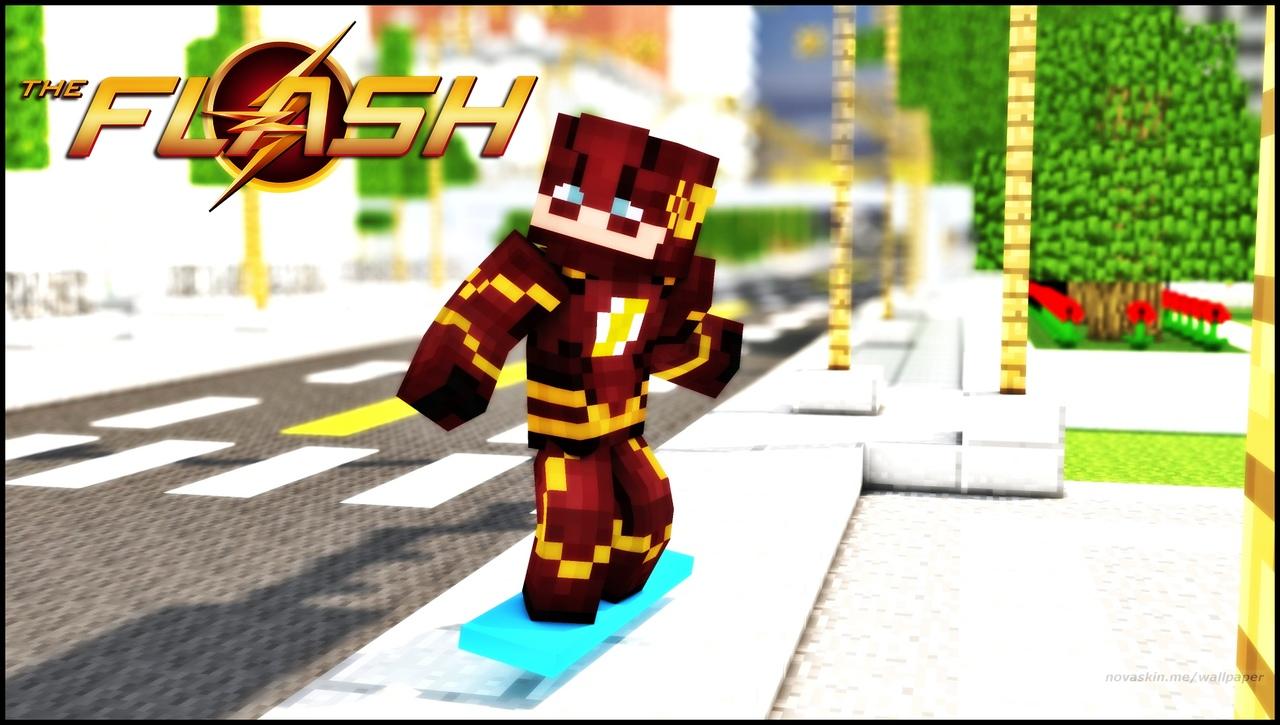 Flash + Speed 8 Minecraft Skin