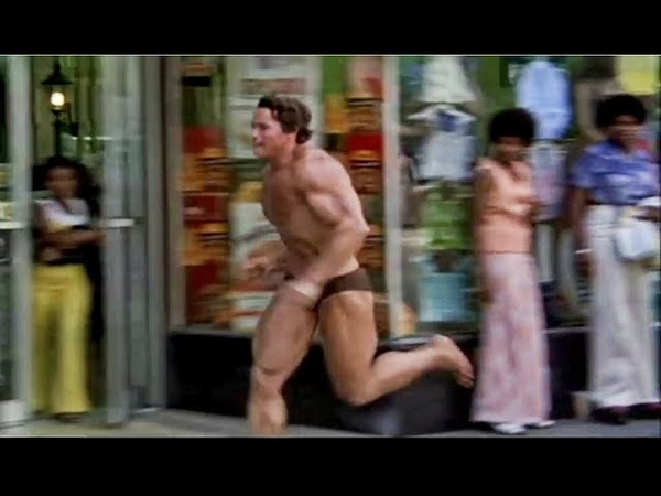 When Arnold Ran Shirtless in Public