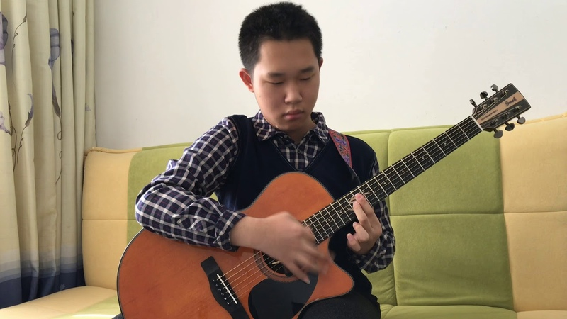 Fingerstyle jump off by jiazhuo liu (Original)