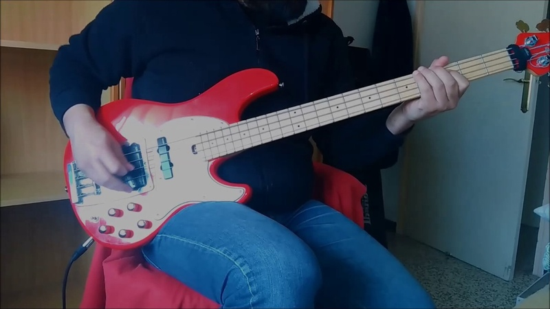 Helloween - Wake up the mountain - Bass Cover