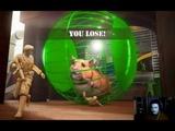 The Mean Greens Plastic Warfare - Lazy Hamster - 2 vs 1