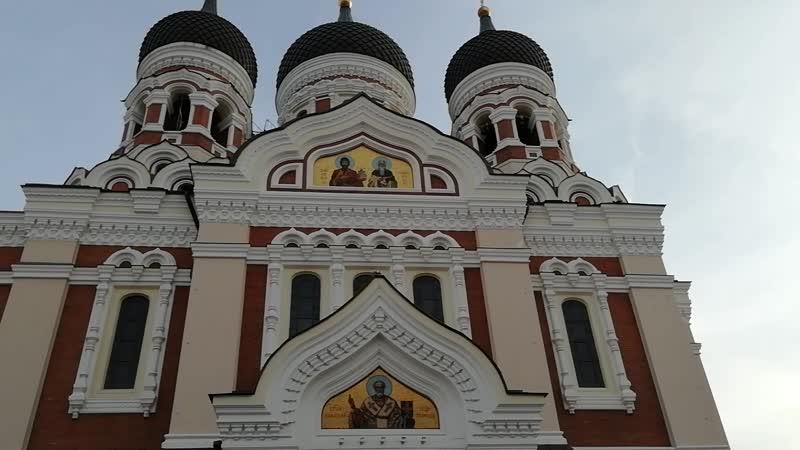 Драйвовый звонарь Александро-Невского собора в Таллине