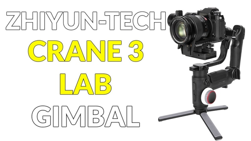 Zhiyun Tech Crane 3 Lab Gimbal