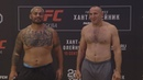 UFC Fight Night Moscow: Weigh-in Face Offs