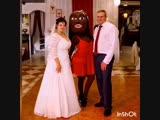Джулия на свадьбе