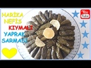 Kıymalı Yaprak Sarma Tarifi Minced Stuffed Grape Leaves Recipe