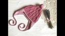 Шапочка для девочки Подробное описание ВЯЗАНИЕ Hat for a girl Knitting