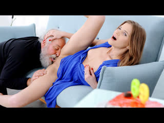 [oldgoesyoung] sarah key fresh babe gives old man a special present newporn2019