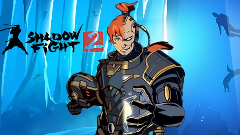 Shadow Fight 2 (БОЙ С ТЕНЬЮ 2) ПРОХОЖДЕНИЕ - ТЕЛОХРАНИТЕЛИ МЯСНИКА В ЗАТМЕНИИ