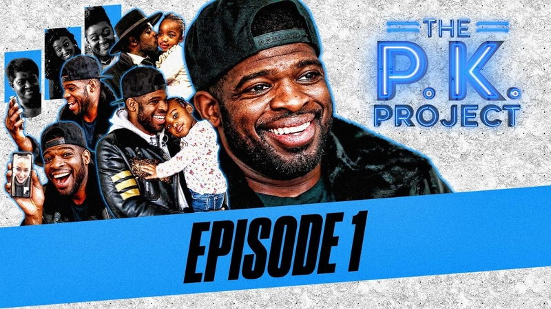 P K Subban's family shows no mercy in his return home The P K Project Ep 1 NHL on NBC
