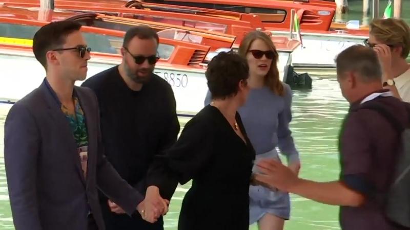 Emma Stone Olivia Colman bring The Favourite to Venice