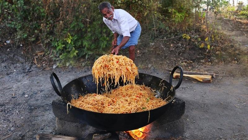 Chicken Noodles Recipe   Amazing Chinese Chicken Hakka Noodles   Grandpa Kitchen