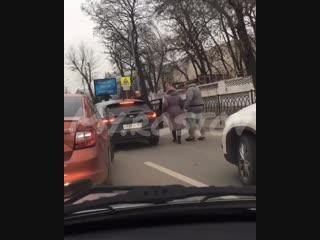 Ростовские разборки на дороге. 21 декабря.