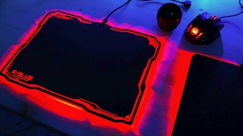 Какой Коврик с RGB подсветкой выбрать Игровая мышка Redragon M908