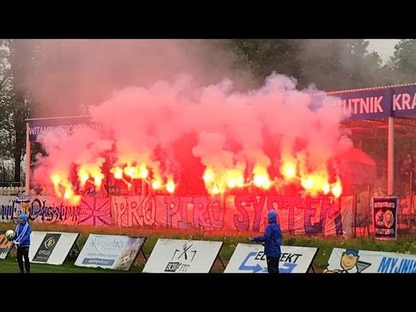 PL Hutnik Kraków Chełmianka Chełm Fans Piro 2019 05 05