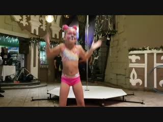Pole Dance. Полина. Дебют