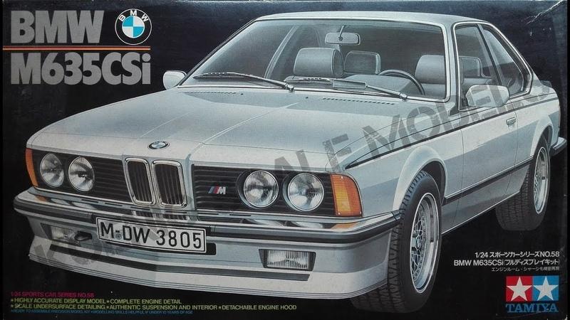 BMW M635 CSi - Tamiya 1/24
