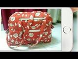 DIY  Ultimate, Weekend Travel Bag Tutorial By Anamika Mishra....