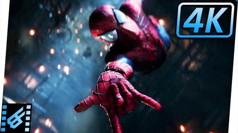 Spider-Man vs Green Goblin Gwen Stacys Death | The Amazing Spider-Man 2 (2014) Movie Clip