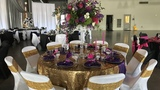 Mardi Gras Inspired Glam Tablescape How to Decorate for a Masquerade Ball or Birthday Party