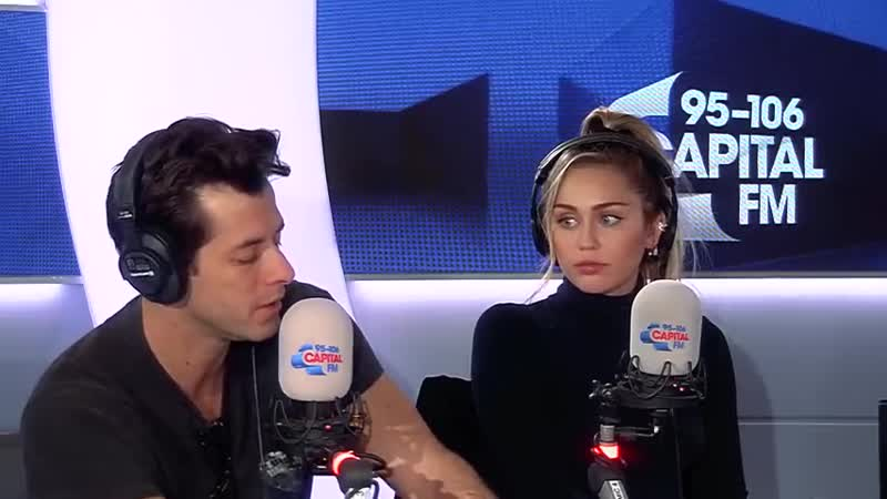 Miley Cyrus And Mark Ronsons Full Interview About Death Drops, G-A-Y NBLAH