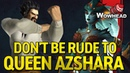 Don't be Rude to Azshara (Eternal Palace Easter Egg)
