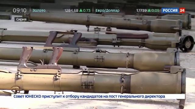 Новости на Россия 24 • Оружие боевикам ИГИЛ в Сирии поставляется из США, Бельгии и Франции
