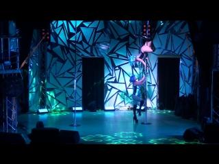 Любименко Настя, Трубецкая Оксана г.Сыктывкар Exotic Pole Dance Дуэт