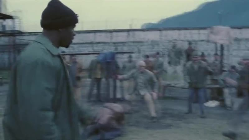 Фильм-Неоспоримый 2.Отрывок.Джордж Чемберс(Майкл Джей Уайт)подрался с заключенными