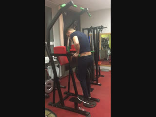 Dips push ups +50 кг (10 раз)😊👍💪