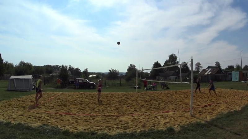 Игра 5 Пляжный волейбол - закрытие сезона микст Новосиль 2018/09/15