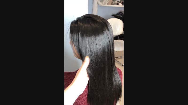 Окрашивание волос и процедура Brazilian blowout