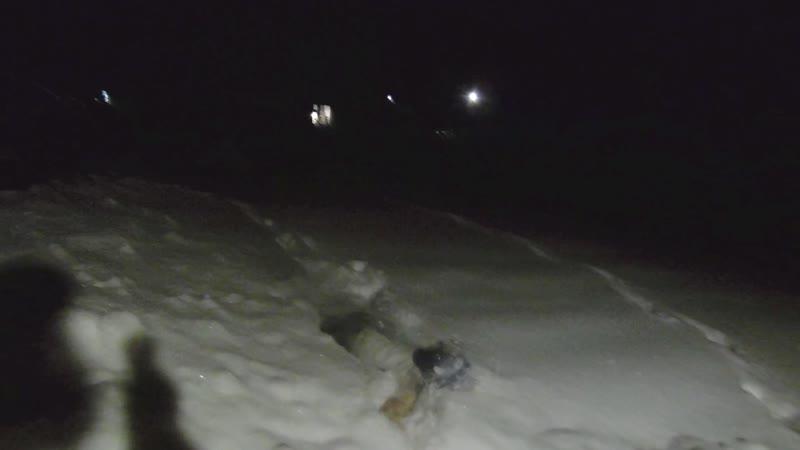 Снег в голове. Купаемся в снегу. Босиком по снегу.