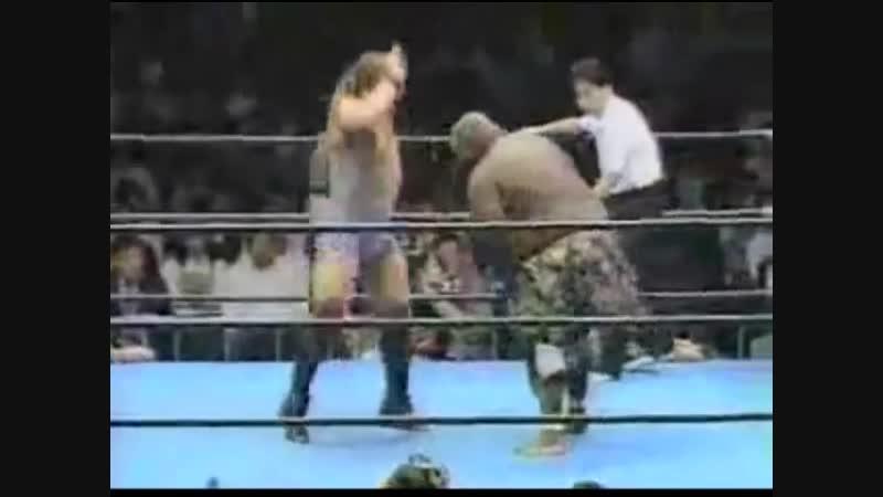 1996.10.18 - Rob Van Dam/Dan Kroffat vs. Giant Kimala II/Jun Izumida (JIP)