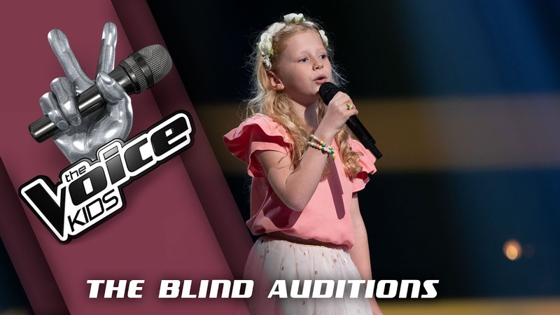 Jikke – Ease On Down The Road | The Voice Kids 2019 | The Blind Auditions