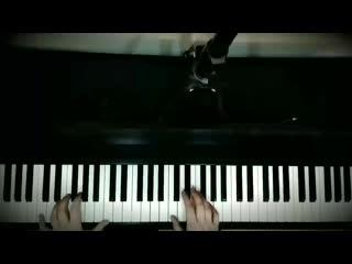 Кавер на «bloody stream», пианино