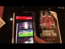 AR in Arsenals commercial partnership programme. Very cool! Tech AR.mp4
